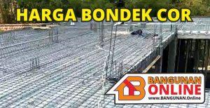 Harga Bondek cor
